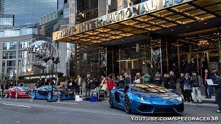 Bugattis at Trump Tower NYC