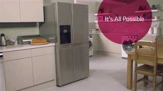 LG Non-Plumbed Fridge Freezer Benefits