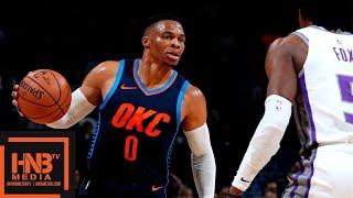 Oklahoma City Thunder vs Sacramento Kings Full Game Highlights | 10.21.2018, NBA Season