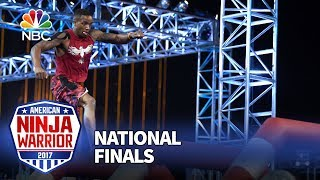 Najee Richardson at the Las Vegas National Finals: Stage 1 - American Ninja Warrior 2017