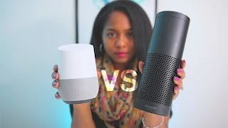SHOWDOWN: Google Home VS Amazon Echo!