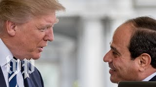 Trump participates in meeting with Egypt