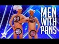 Men with Pans SHOCK the Audience | Ameri...mp3