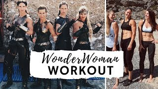WONDER WOMAN WORKOUT | TRAINING WITH THE AMAZONS!