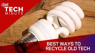 Best ways to recycle old tech