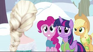 Elsa meets My Little Pony