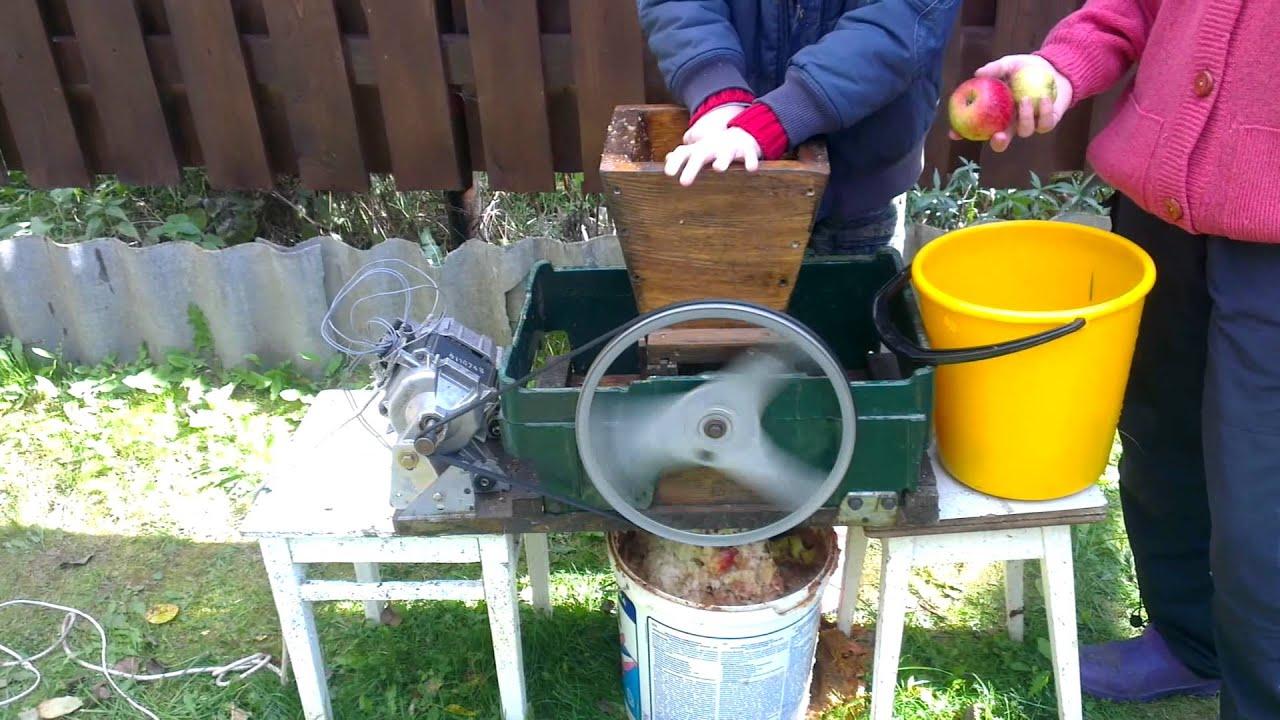 Изготовление соковыжималки своими руками
