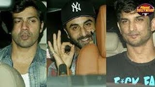 Varun, Arjun, Sushant, Bhumi Attend 'Barielly Ki Barfi's Screening | Bollywood News