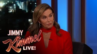 Jimmy Kimmel Asks Caitlyn Jenner if She Regrets Voting for Trump