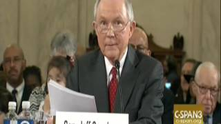 Protester At Jeff Sessions Confirmation Hearing: We Have To Stop This Mother F****** Pig