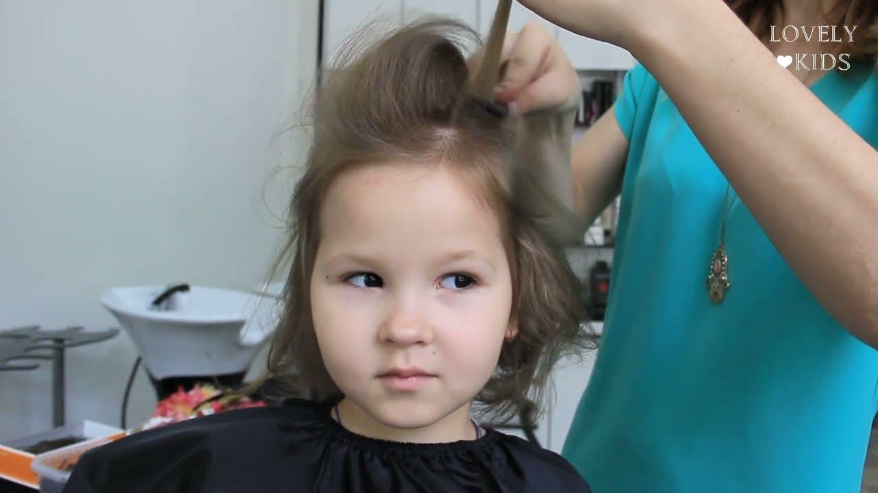 Прически для коротких волос в домашних условиях для детей