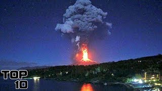 Top 10 Volcanic Eruptions Caught on Camera