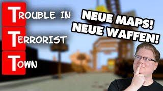 Neue Maps und neue Waffen! 🎮 TTT - Trouble in Terrorist Town #534
