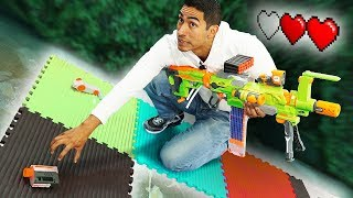 NERF Board Game   Choose Your Path Challenge!