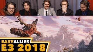 Sekiro: Shadows Die Twice - Easy Allies Reactions - E3 2018