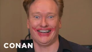 Conan Becomes A Mary Kay Beauty Consultant - CONAN on TBS