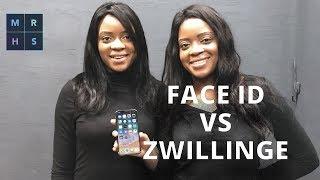 Eineiige Zwillinge Knacken iPhone X Face ID?
