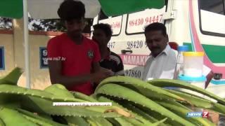 Aloe vera juice a big hit in Namakkal