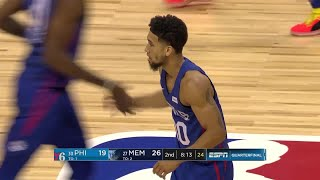 2nd Quarter, One Box Video: Memphis Grizzlies vs. Philadelphia 76ers
