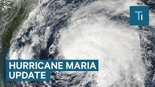 Hurricane Maria slams Puerto Rico —here are the latest projections