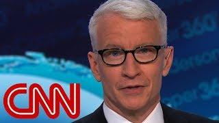 Anderson Cooper imitates Trump