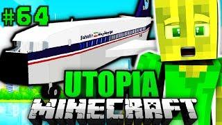 ICH mache EINE WELTREISE?! - Minecraft Utopia #064 [Deutsch/HD]
