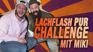 Lachflash pur Challenge mit Miki   inscope21