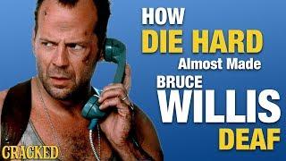 How Die Hard Almost Made Bruce Willis Deaf