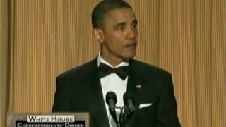President Obama Roasts Donald Trump At White House Correspondents