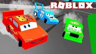 Roblox CARROS 3 - Relâmpago McQueen PRECISA DE AJUDA !!