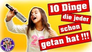 10 DINGE DIE JEDER SCHON MAL GEMACHT HAT...PEINLICH ABER WAHR |  FAMILY FUN