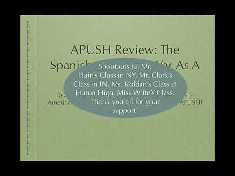 apush spanish american war essay