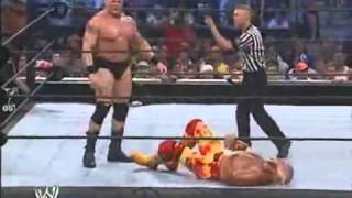 Hulk Hogan vs Brock Lesnar [ Smackdown 2002 ]