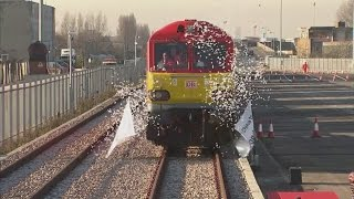 First direct freight train from China arrives in UK