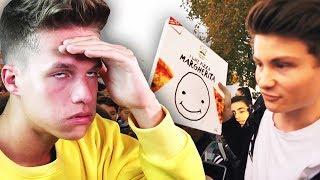Reaktionen auf meine PIZZA 🍕