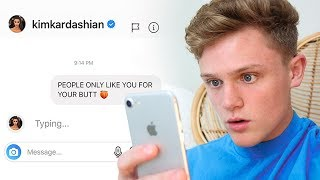 I SENT A DM TO 100 CELEBRITIES ON INSTAGRAM *it worked*