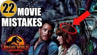 22 Mistakes of JURASSIC WORLD You Didn