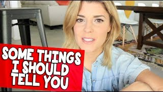 SOME THINGS I SHOULD TELL YOU // Grace Helbig