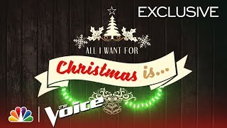All I Want For Christmas, Featuring Mariah Carey - The Voice 2018 (Digital Exclusive)