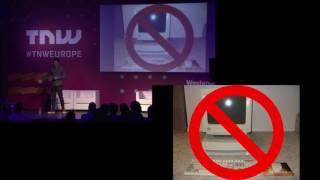 Samy Kamkar (Hacker)   TNW Conference   Secret Hacking Techniques