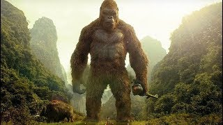Kong Saves Giant Buffalo Scene - Kong: Skull Island (2017) Movie Clip HD