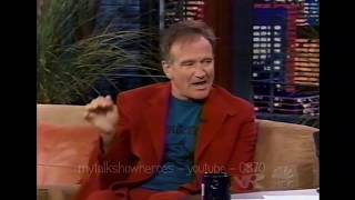 ROBIN WILLIAMS has FUN with LENO