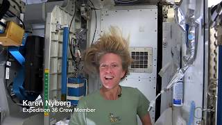 Astronaut Tips: How to Wash Your Hair in Space   Video