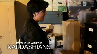 KUWTK | Kris Jenner Finds What In Storage Unit?! | E!