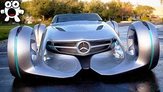 Strange But Exciting Vehicles From The Future