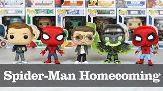 Spider-Man Homecoming Funko Pop Showcase