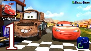 Cars: Fast as Lightning Android Walkthrough - Gameplay Part 1 - Todd