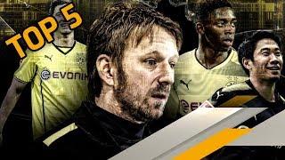 Superscout Mislintat: Seine 5 besten Transfers beim BVB | SPORT1 RANKINGS