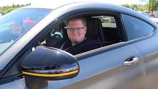 Ich darf im C63 S über den Nürburgring fahren - 50 Jahre AMG Teil 2