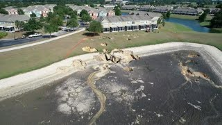 Sinkholes in Florida force evacuations